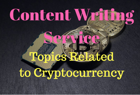 Article writing of 500 words on topics related to Cryptocurrency,  ICO,  Blockchain and more