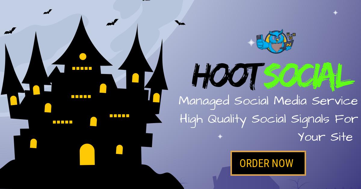 HOOT Social - 1,000,000 Highest Quality Social Signal...