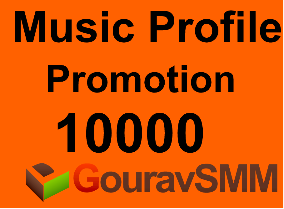 10000+ profile Or Favorites Or Repost on your Music Profile or Track