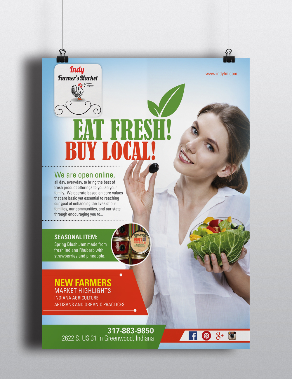 Newspaper ad design for your business