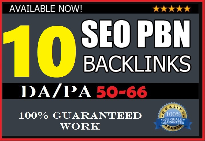 10 Powerful High PA/DA PBN Dofollow Links PA/DA Guara...