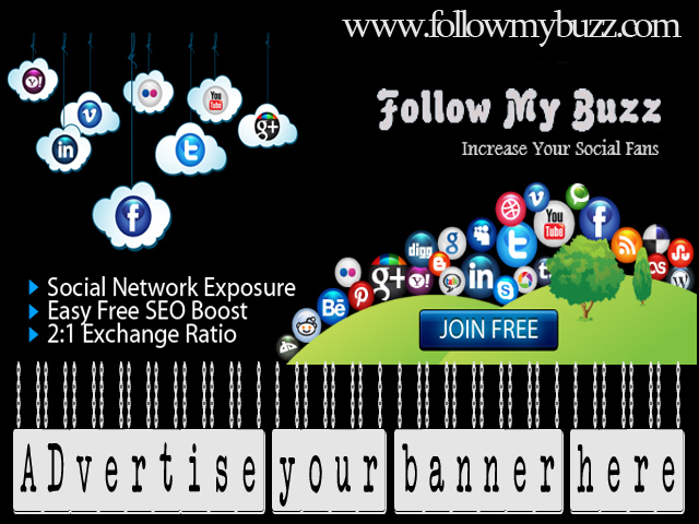 Advertise your Banner for 2 Months on my site