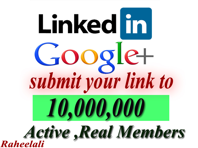promote anything to 10,000,000 linkedin and google members