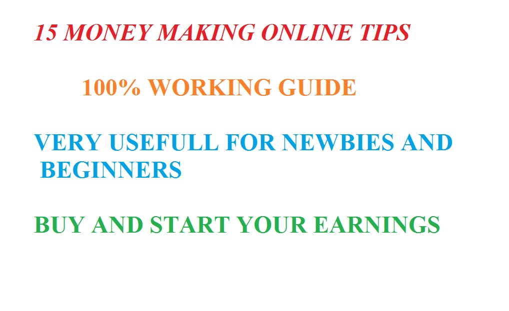 Money Making Guide eBook