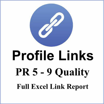 25+ PR59  High Authority Profile backlinks, best links forever