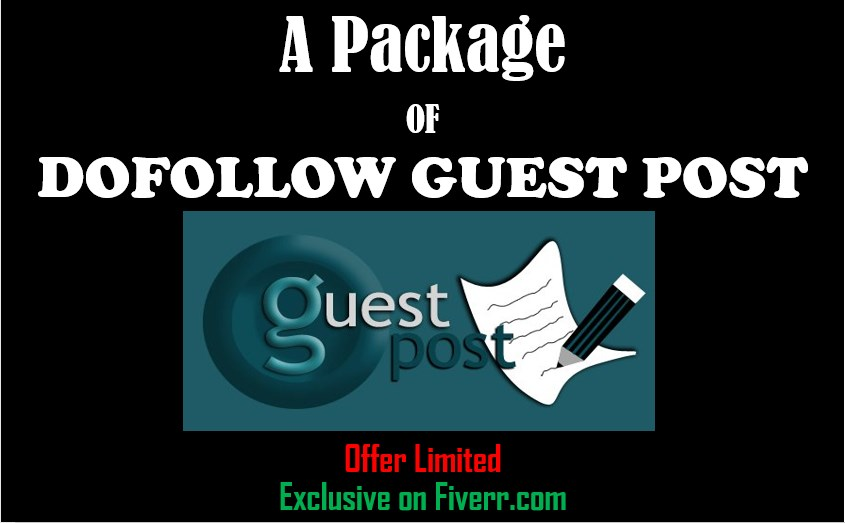 12 Dofollow Guest Post on High Authority Blog