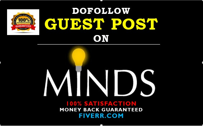 Provide Dofollow Guest Post From Minds