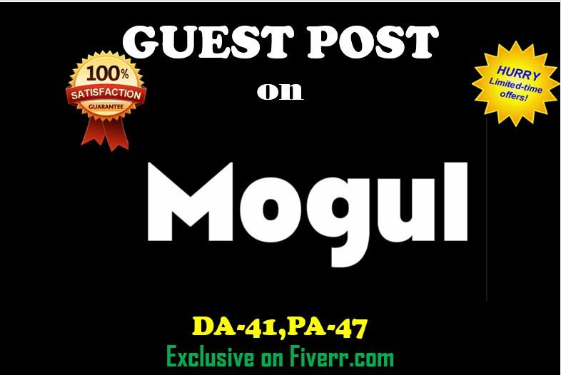 I do guest post on Mogul PR5