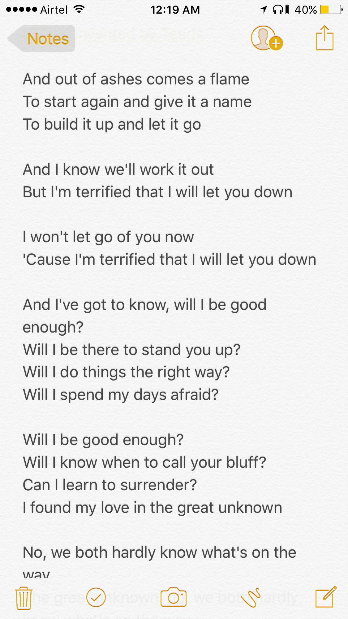can make all kinds of music lyrics