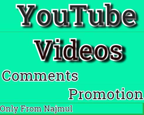 Do Youtube video Promotion & marketing via social media