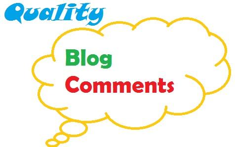 Do 40 High Da Blog Comment