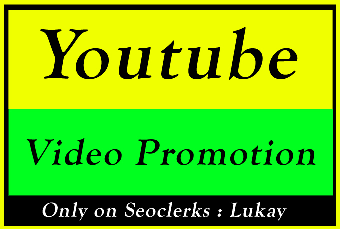 YouTube Video Ranking Promotion and Marketing