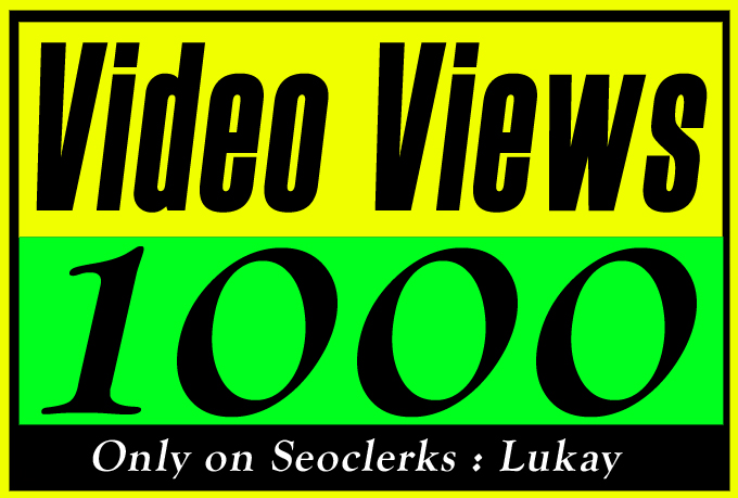 Organic Video Views Promotion and Marketing