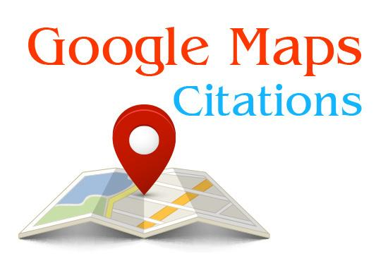 Google Page 1 with Google Map Citations for your Business