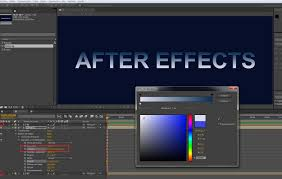 Create / edit YouTube video with after effects