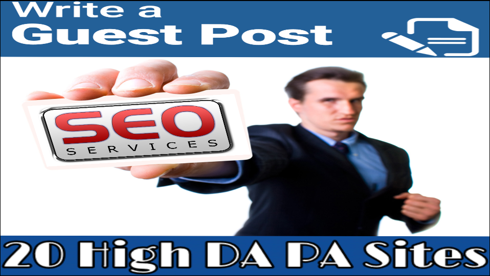 Guest post on 10 high Authority sites DA50-97