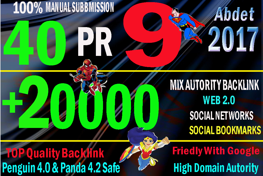 manual 40 PR 9 link 20k tier