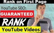 Rank Higher Page ONE YouTube search Results and Google Videos