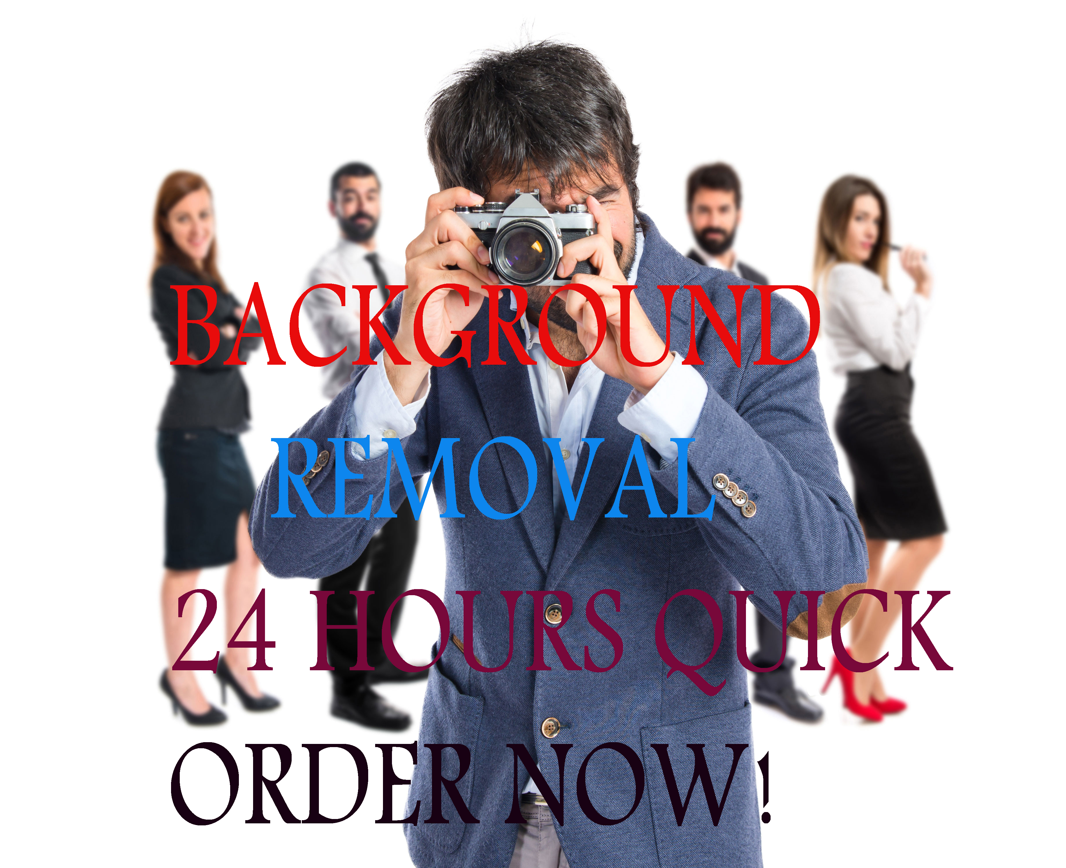 'I Will' Remove 50 Images Background Within3 hours