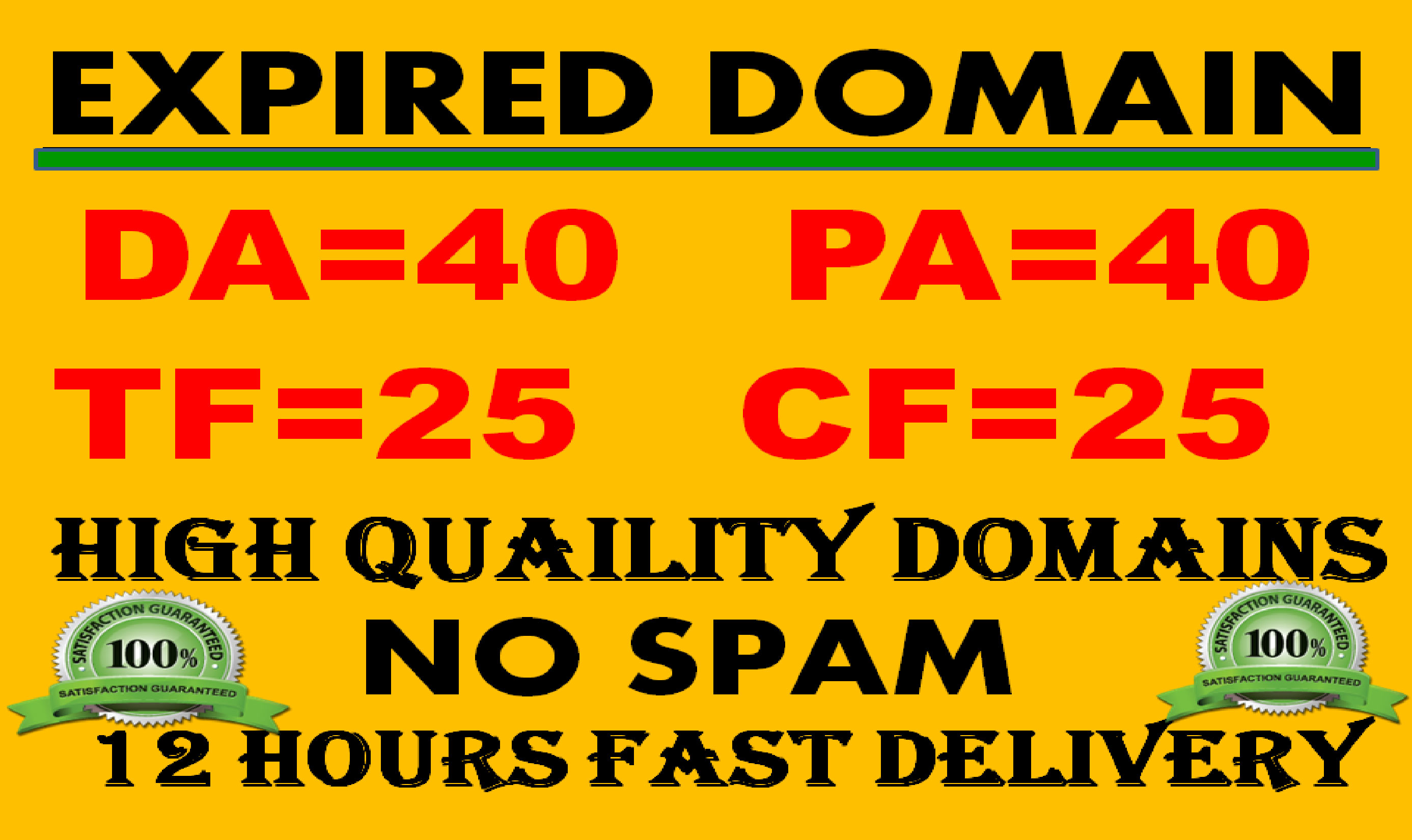 find seo friendly expired Domain
