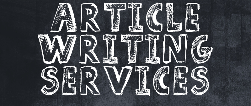 Article writing service by an Monster Backlinks staff member