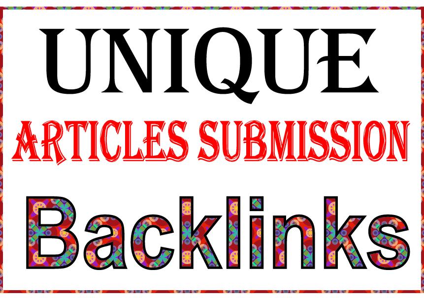 Create 2000 Unique Article Submission High PR Metrics...