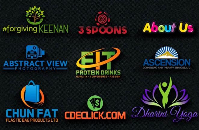 design a modern company, business, website and brand logo