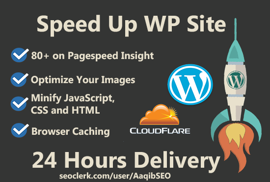 Speed Up Wordpress Site Within 24 Hour