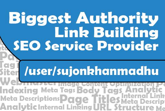 Biggest Authority Link Building