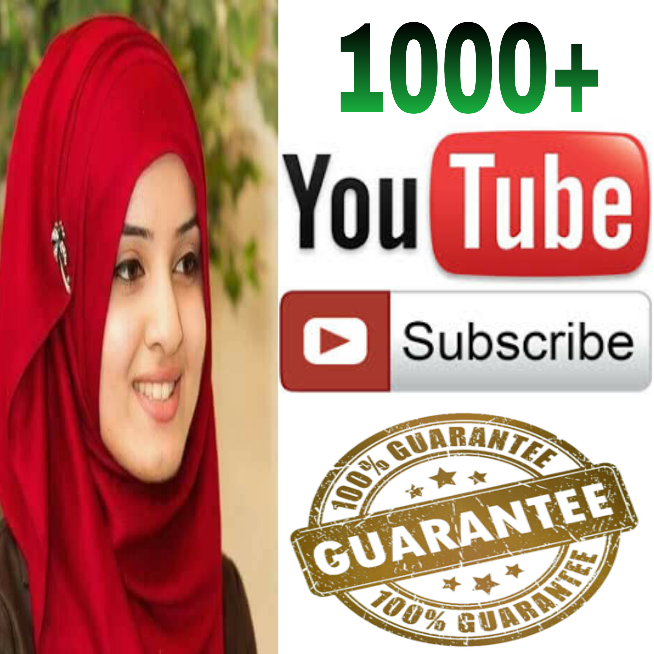 Instant Add safe 1k/1000  channel subscriber non drop Guaranteed  super fast in 2-8 hours