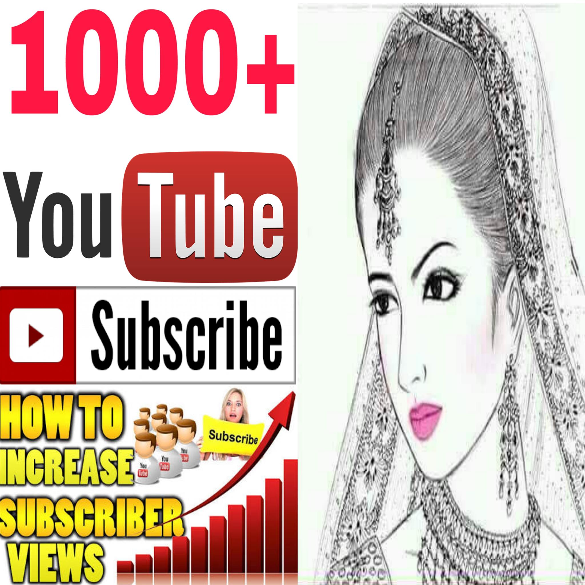 Instant Add safe 1k/1000  channel sub-SScriber non drop Guaranteed  must be rifile super fast in 2-8 hours