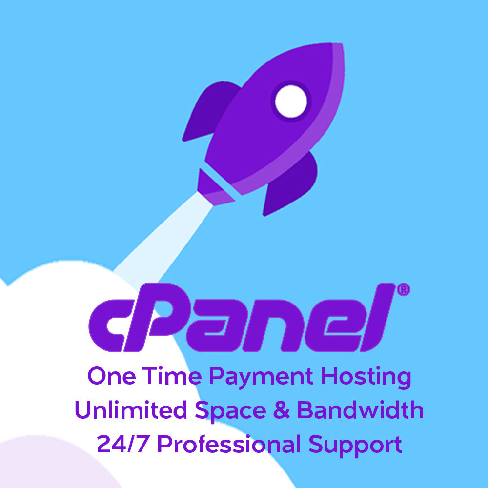 Unlimited cPanel Web Hosting only 4.99 for 1 Year