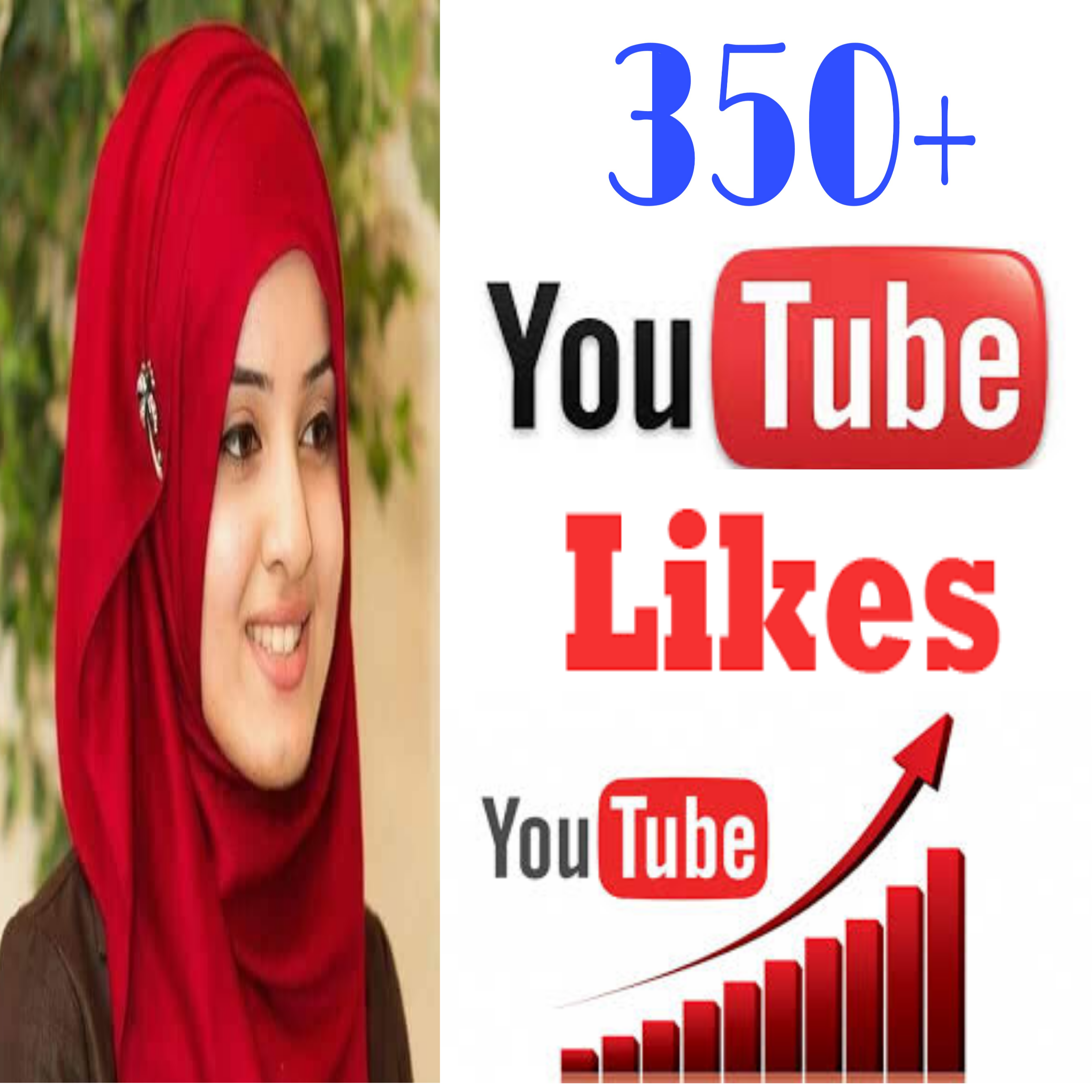 INSTANTLY Provide 350+ high quality You Tube video likes very fast in 1-1 hours