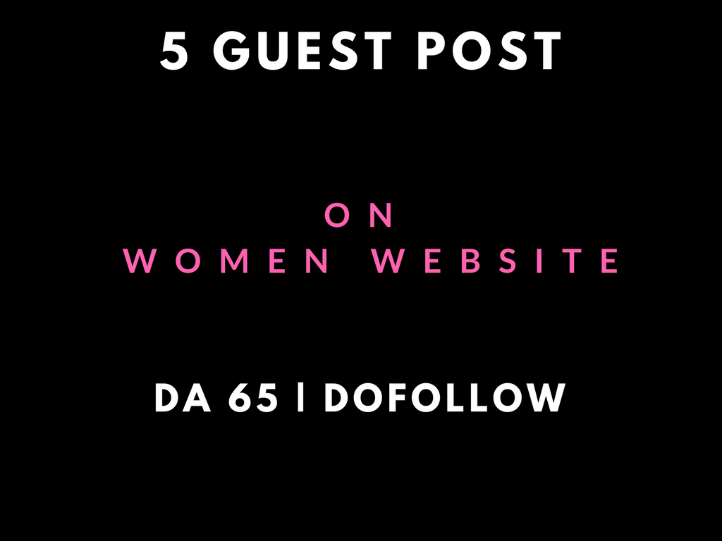 will Write and Publish 5 Guest Posts On Becomegorgeous SEO Dofollow