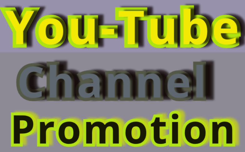 Provide Manually Do Channel Promotion