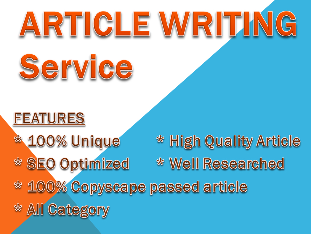 500 words article writing Recommended for SEO