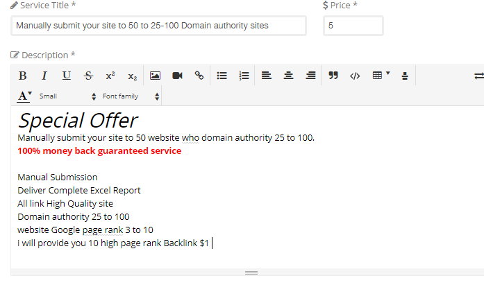 Manually submit your site to 50 to 25-100 Domain authority sites