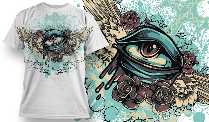 T-Shirt design package - get it straight away