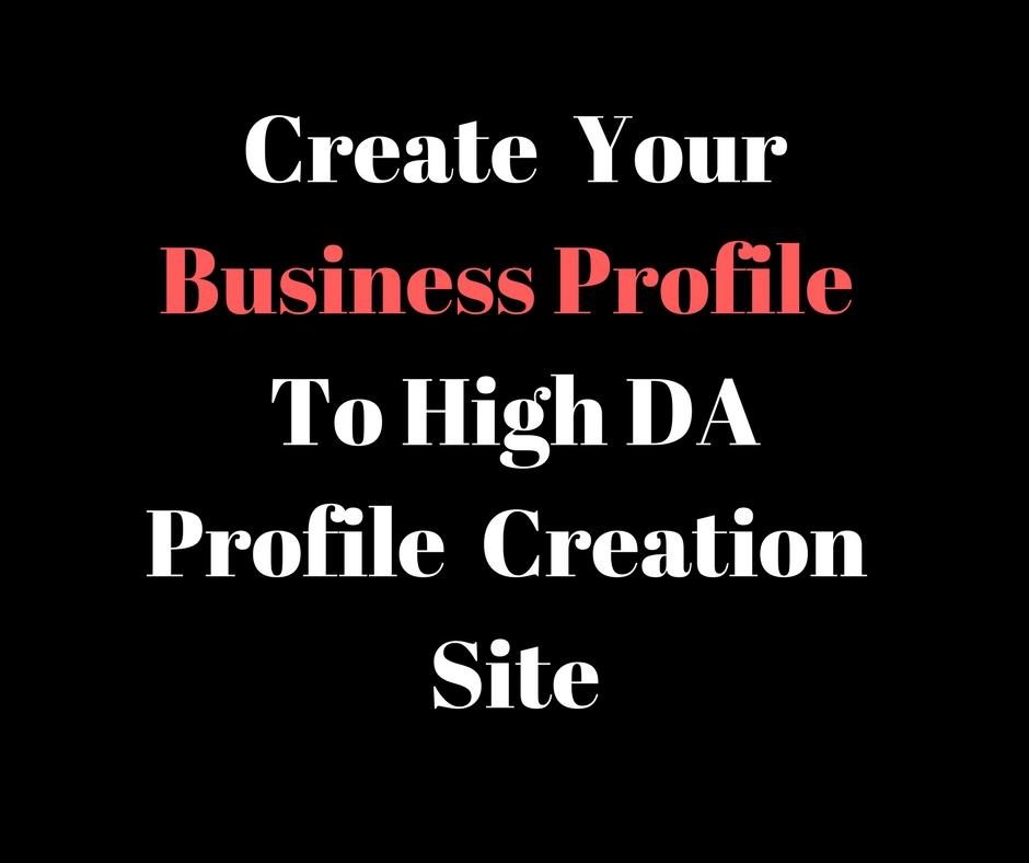 I Will Create 20 high quality profile creation back l...