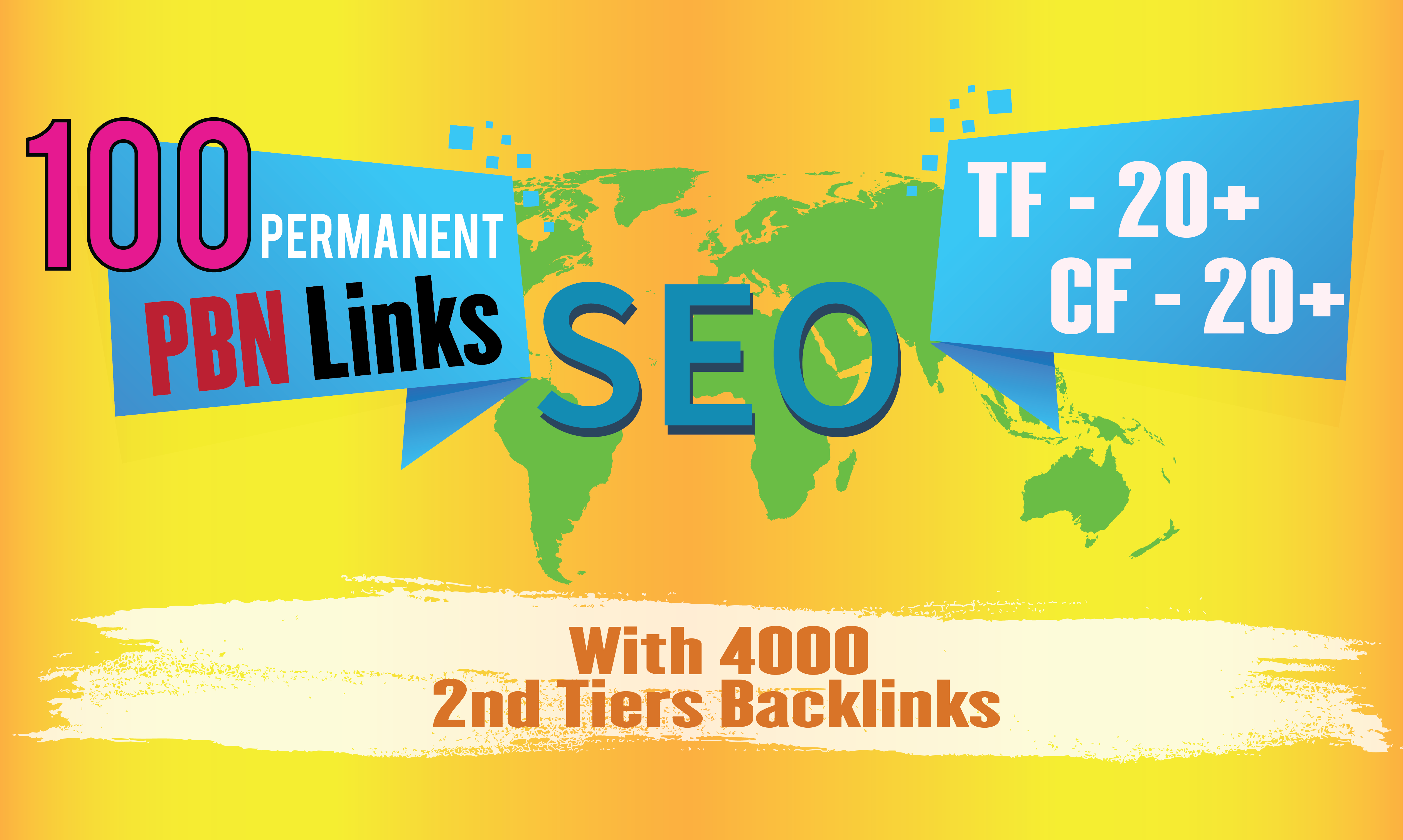 Build 100 Permanent Homepage PBN With 4000 2nd Tiers Backlinks