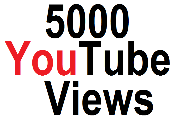5000 High Retention  YouTube Views With  Super Fast Delivery