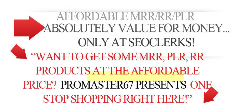Get 5 MRR Product E-book or Audio