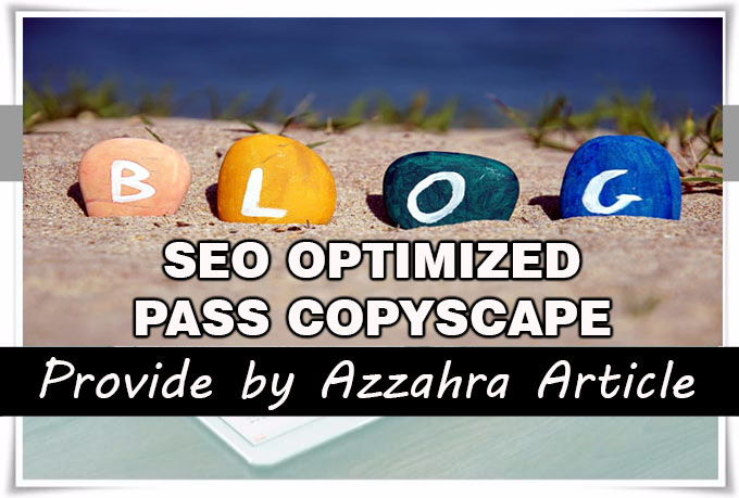 I Will Write 6 SEO Optimized Articles 500 Words Each, Pass Copyscape Guarantee