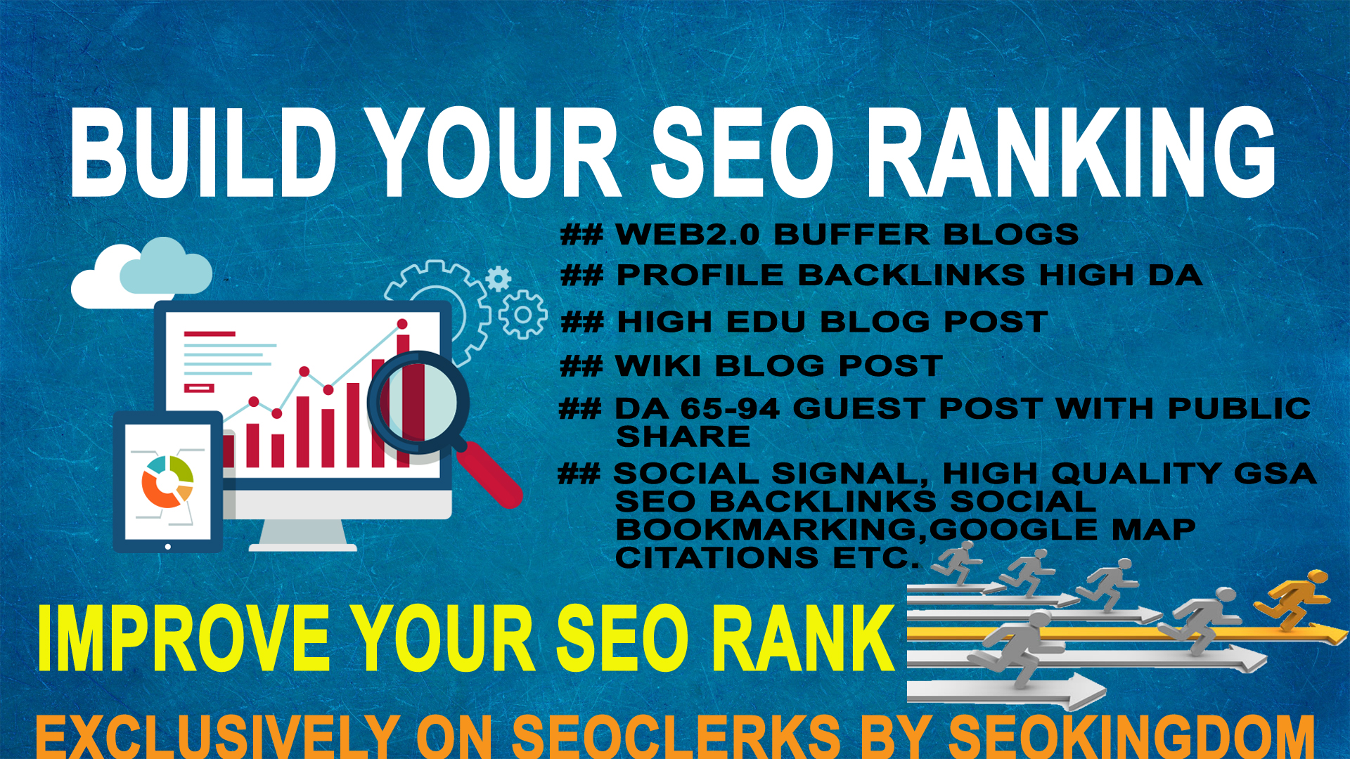 Build Your SEO Ranking With My High Authority Backlin...