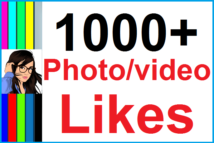 Instantly 1,000+ Likes In Pic Or 20,000 Views in Video Social Media High Quality
