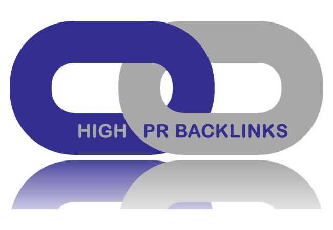 Do 50 PR 9 Educational back links from 50 unique PR 9...