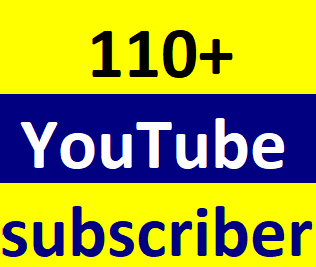 110+Youtube channel subcriber non drop instant start just