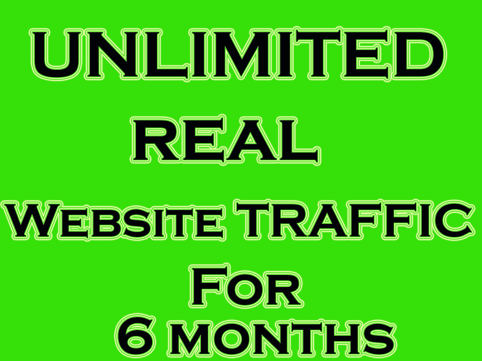 Real Genuine Unlimited Website Traffic 6 months + Bonus Traffic