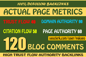 Offer You 120 Blog comments On High Quality Dofollow ...