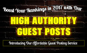 Provide 5 Guest Post On High Quality Dofollow Post DA...